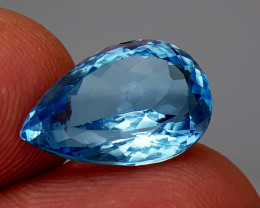 8.15Crt Blue Topaz Natural Gemstones JI02