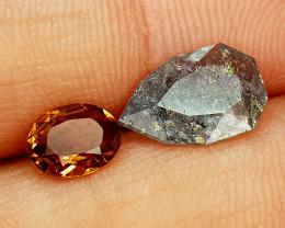 2.45Crt Chrome Tourmaline Natural Gemstones JI02