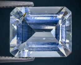 3.39 Crt  Aquamarine Faceted Gemstone (Rk-73)