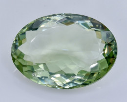 21.10 Crt  Green Prasiolite Amethyst Faceted Gemstone (Rk-73)