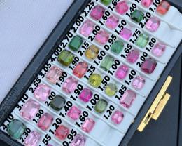 82 ct Fablous Bulk Multi Color Tourmaline Parcel wholesale close out
