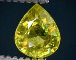 0.43 Crt Sphene Faceted Gemstone (Rk-73)