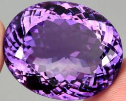 65.50 ct 100% Natural Earth Mined Unheated Purple Amethyst, Uruguay