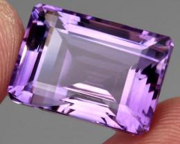 22.89 ct 100% Natural Earth Mined Unheated Purple Amethyst, Uruguay