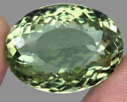 Big Clean 32.91ct Natural Earth Mined Top Rich Green  Prasiolite