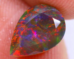 1.42cts Natural Ethiopian Welo Smoked Faceted Opal / MA1415