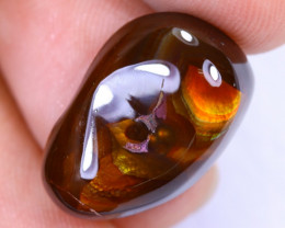 11.20cts Natural Mexican Fire Agate / MA1426