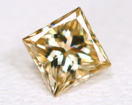 0.10Ct Princess Natural Untreated Genuine Fancy Diamond B349