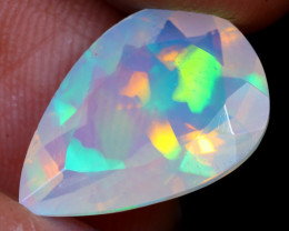 3.56cts Natural Ethiopian Welo Faceted Opal/ MA1457