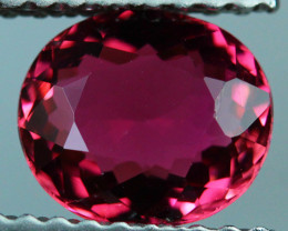 1.00 CT 7X6 MM Excellent Cut AAA Mozambique Pink Tourmaline-PTA722