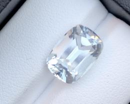 5.50 Ct Natural  Fancy Cut Aquamarine Gemstone