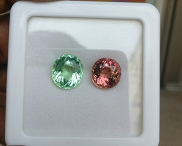 14.44 CTS  EXCELLENT LUSTER PINK MINT NATURAL TOURMAILNE