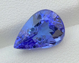 5.13 CT Tanzanite Gemstone Top color with fine cutting