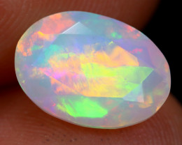 1.64cts Natural Ethiopian Faceted Welo Opal / KL951