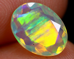 1.38cts Natural Ethiopian Faceted Welo Opal / KL953