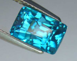 7.51ct  BRIGHT BEST BLUE ZIRCON