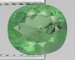 1.26 CT GREEN APATITE TOP CLASS CUT AG8