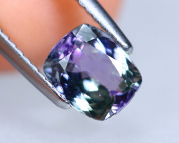 1.51cts Natural Violet Green Peacock Tanzanite / KL976