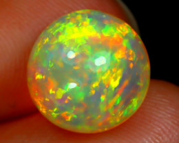 Welo Opal 2.91Ct Natural Ethiopian Neon Flash Color Welo Opal A0917