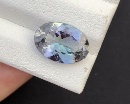 4.64 Carat Natural Vvs Clean Tanzanite Gemstone