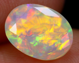 1.63cts Natural Ethiopian Faceted Welo Opal / KL962