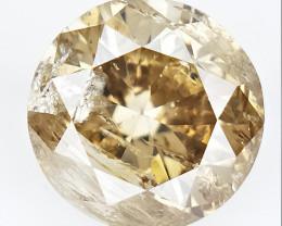 0.47  cts , Round Color Diamond , Round Cut Diamond