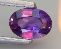 Color Change Sapphire 0.81 ct Purple Color Sri Lanka SKU.31