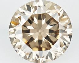 0.35 CTS , Round Color Diamond , Round Cut Diamond