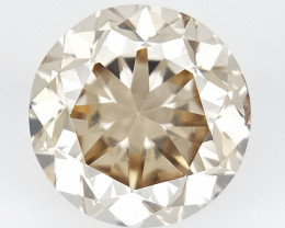 0.38 cts , Round Color Diamond , Round Cut Diamond