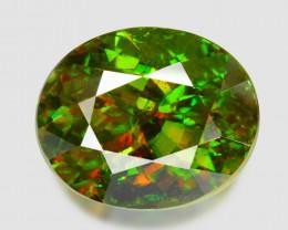 3.78 Ct Chrome Sphene Exceptional Color Pakistan Sph14