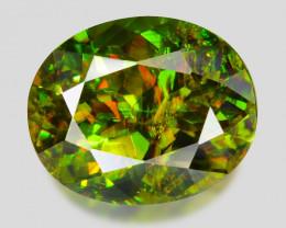 2.57 Ct Chrome Sphene Exceptional Color Pakistan Sph16
