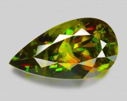 5.92 Ct Chrome Sphene Exceptional Color Pakistan Sph18