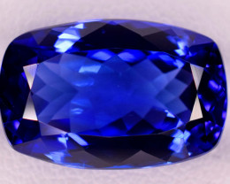 9.35 Carats Dazzling AAA GRade Eye catching color Tanzanite Gemstone