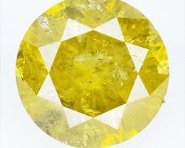 0.33 CTS , Round Color Diamond , Round Cut Diamond