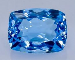 3.70 Crt Natural  Topaz Faceted Gemstone.( AB 99)