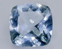 1.68 Crt Natural Aquamarine   Faceted Gemstone.( AB 99)