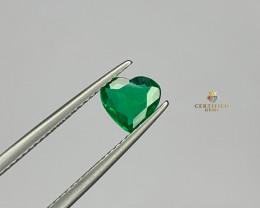 Emerald Heart 0.63 Carats