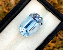 22.55 Carats Aqua Goshnite Gemstone From Pakistan