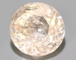 5.90 CTS EXCELLENT NATURAL LUSTER-PEACH MORGANITE ROUND