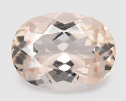 Morganite 2.41 Cts Amazing Rare Natural Pink Color Gemstone