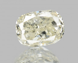 Diamond 0.16 Cts Untreated Fancy Yellowish Grey Color Natural Diamond
