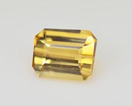 Tourmaline 0.45 Cts Bellini Yellow Step cut BGC1058