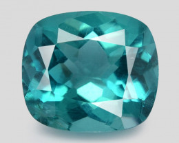 Apatite 1.80 Cts Un Heated Neon Greenish Blue Natural Loose Gemstone