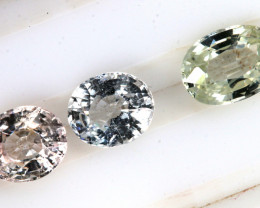 2.50 CTS  MULTI COLORED SAPPHIRE FACETED(3PCS)  PG-1402