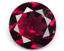 Rhodolite Garnet 2.66 Cts Unheated Natural Cherry Red Gemstone