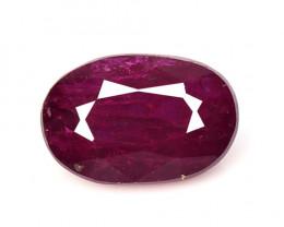 *No Reserve* Ruby 1.35 Cts Pinkish Red Natural Loose Gemstone