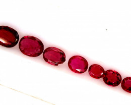 2.10 CTS    SPINEL FACETED STONE (9PC) PG-1432