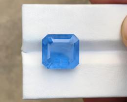 HGTL CERTIFIED 2.78 Ct Blue Transparent Aquamarine (Beryl) Gemstone