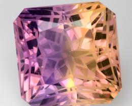 11.92 Cts Bolivian Ametrine Stunning Luster & Cut Gemstone  AMT2