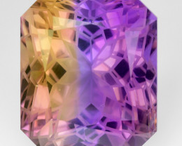 16.15 Cts Bolivian Ametrine Stunning Luster & Cut Gemstone  AMT13